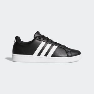 Adidas womens cloud foam leather shoes